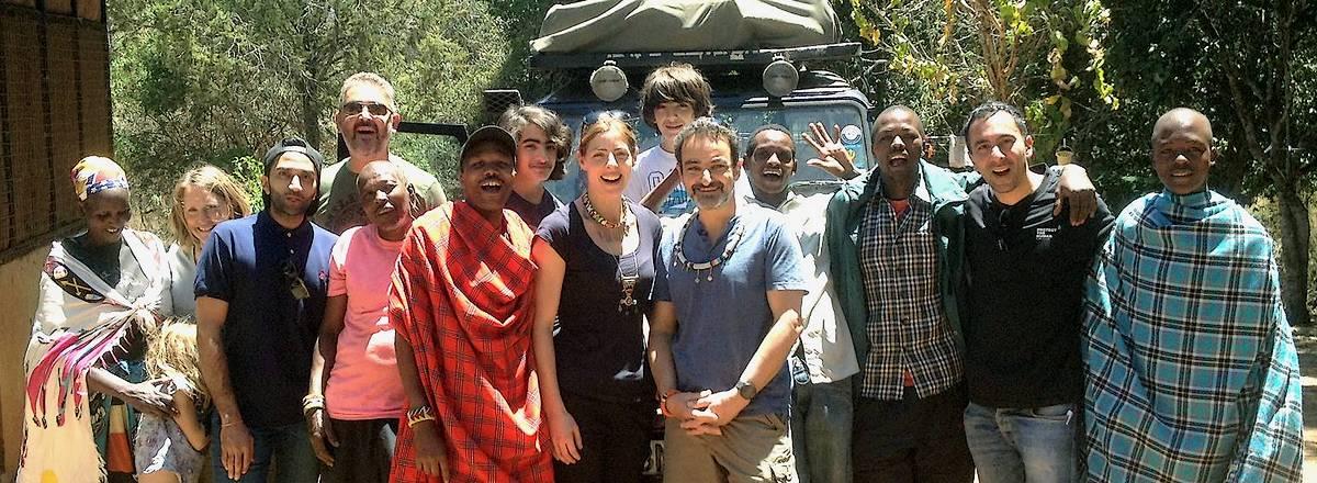 Elgin staff on charity visit to Kenya